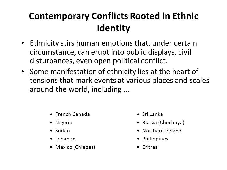 Language is often a symbol of ethnic identity Source: Atlas of Canada.