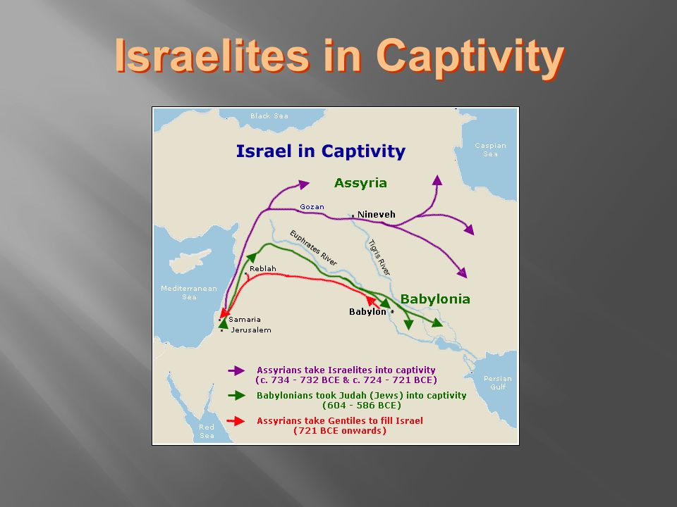 Israelites in Captivity