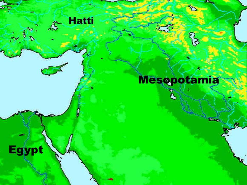 Mesopotamia Egypt Hatti