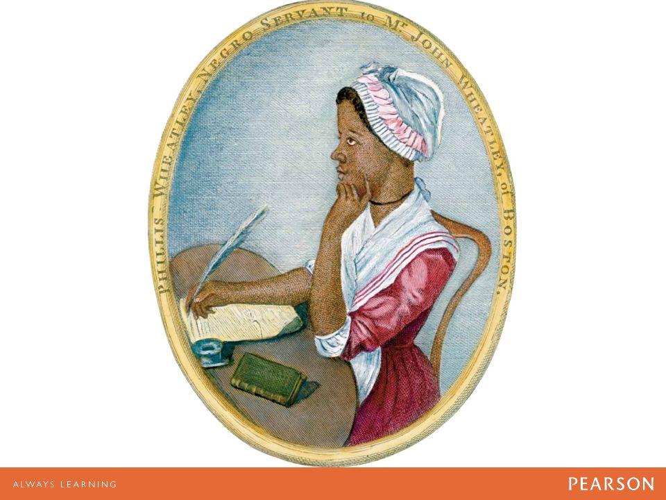 African American poet Phyllis Wheatley