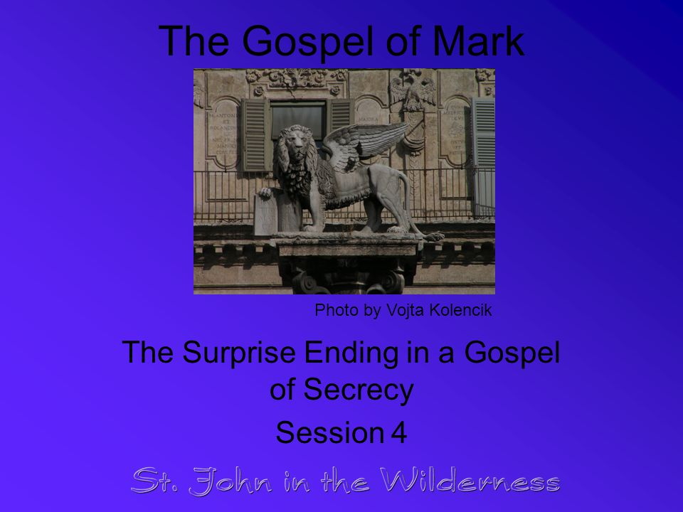 Solutions to the Secrecy Problem Some think historical Jesus kept identity secret due to presumed danger & potential for misunderstanding Wrede's solution builds on source analysis –Assumes Jesus the Messiah developed after resurrection –Says Mark linked earlier understanding of Jesus as sage / prophet with new concept of Jesus as Messiah
