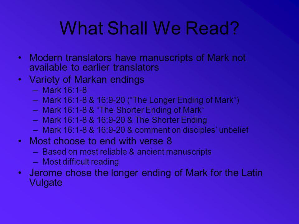 Bibliography Juel, Donald H., The Gospel of Mark, Nashville : Abingdon Press, 1999.