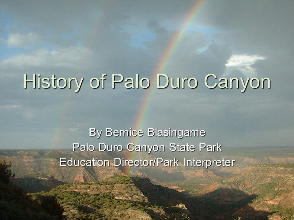 Wildlife of Palo Duro Canyon