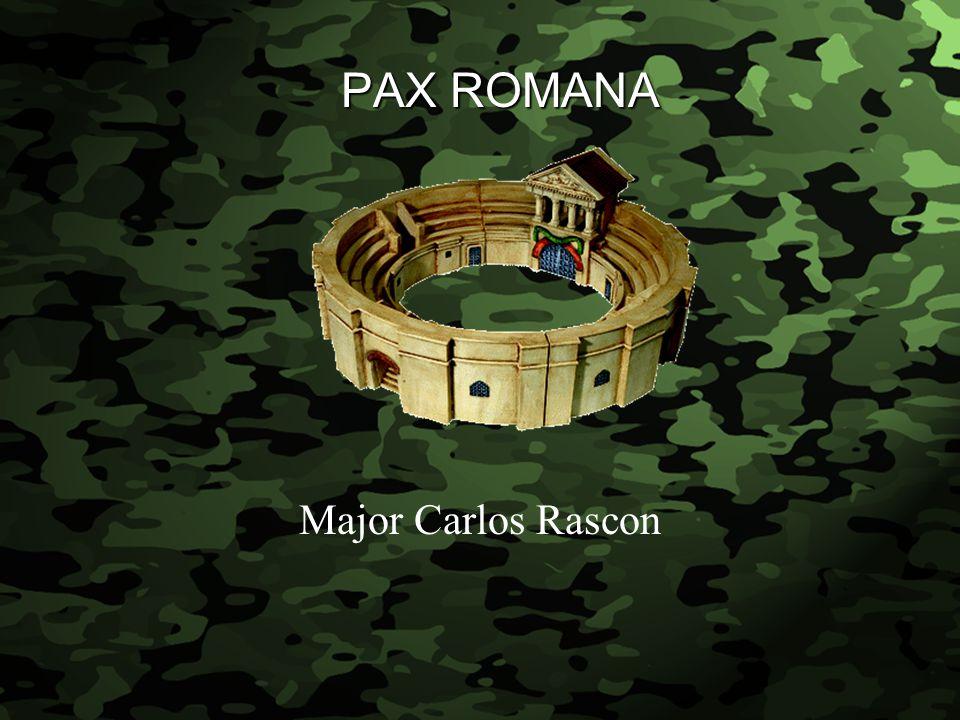 Slide 1 PAX ROMANA Major Carlos Rascon