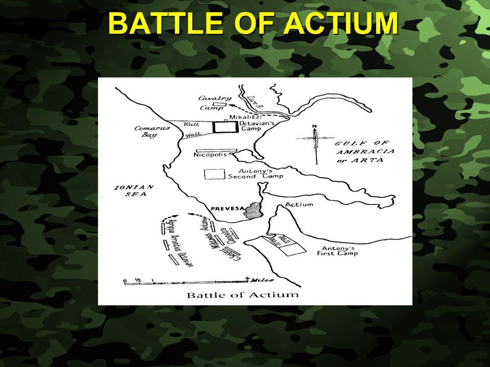 Slide 30 BATTLE OF ACTIUM
