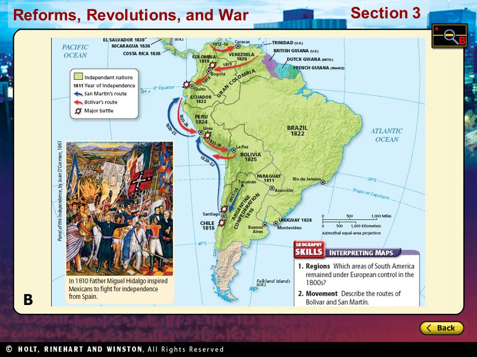 Reforms, Revolutions, and War Section 3