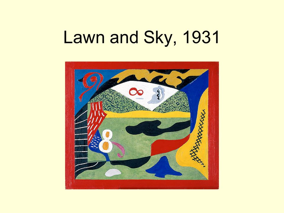 Lawn and Sky, 1931