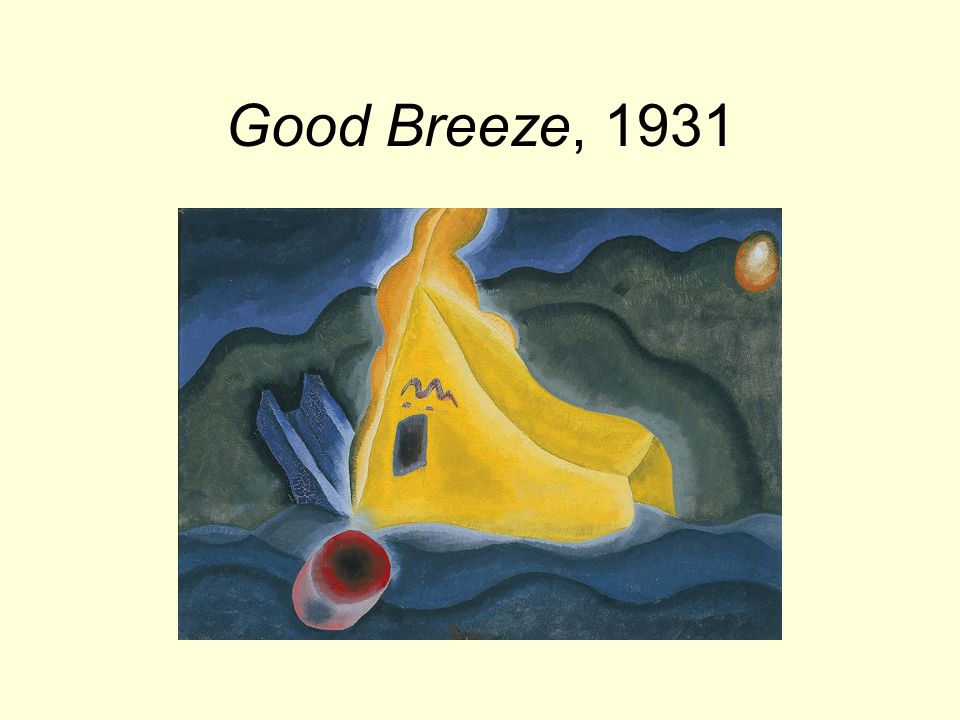 Good Breeze, 1931