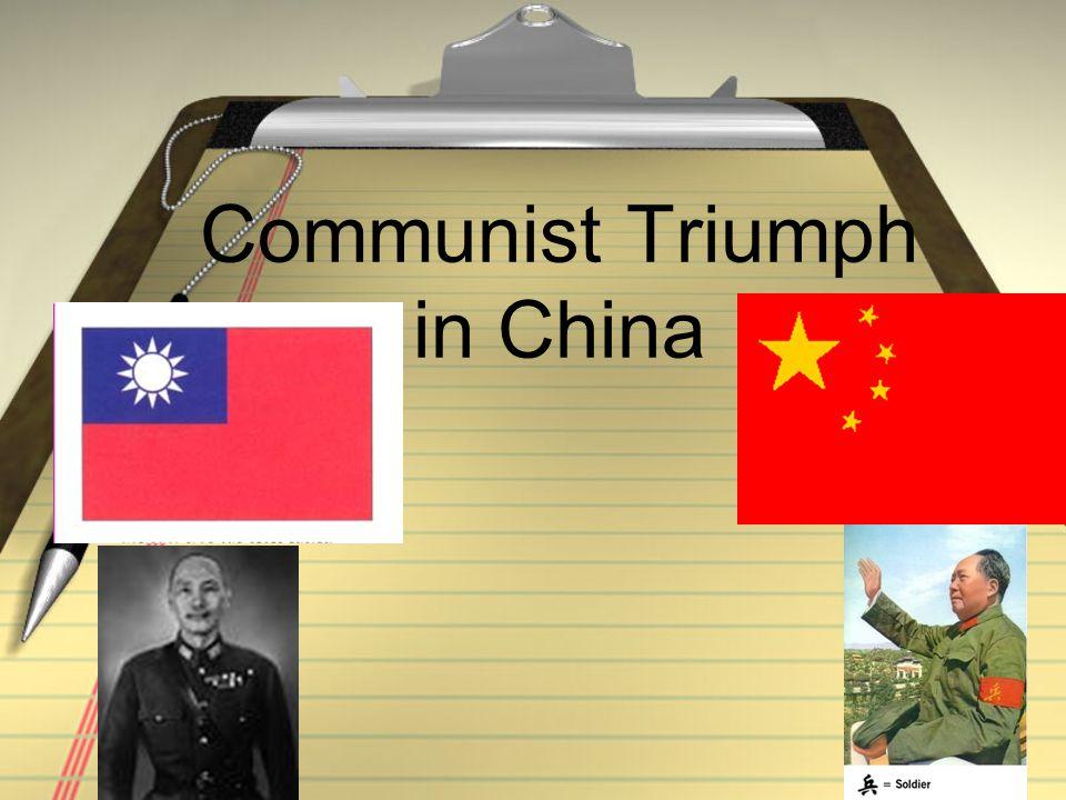 Communist Triumph in China