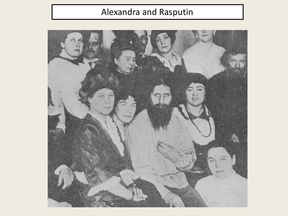 Alexandra and Rasputin