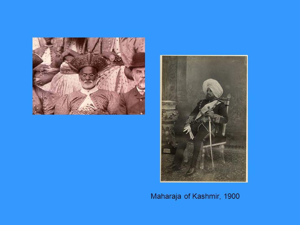 Maharaja of Kashmir, 1900
