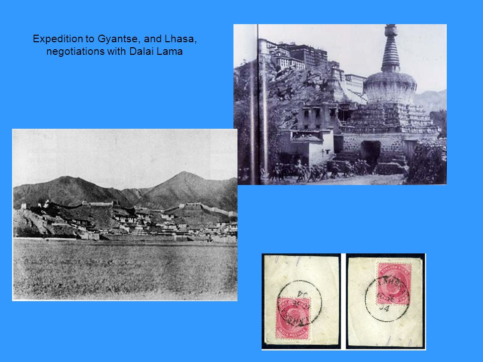 Expedition to Gyantse, and Lhasa, negotiations with Dalai Lama