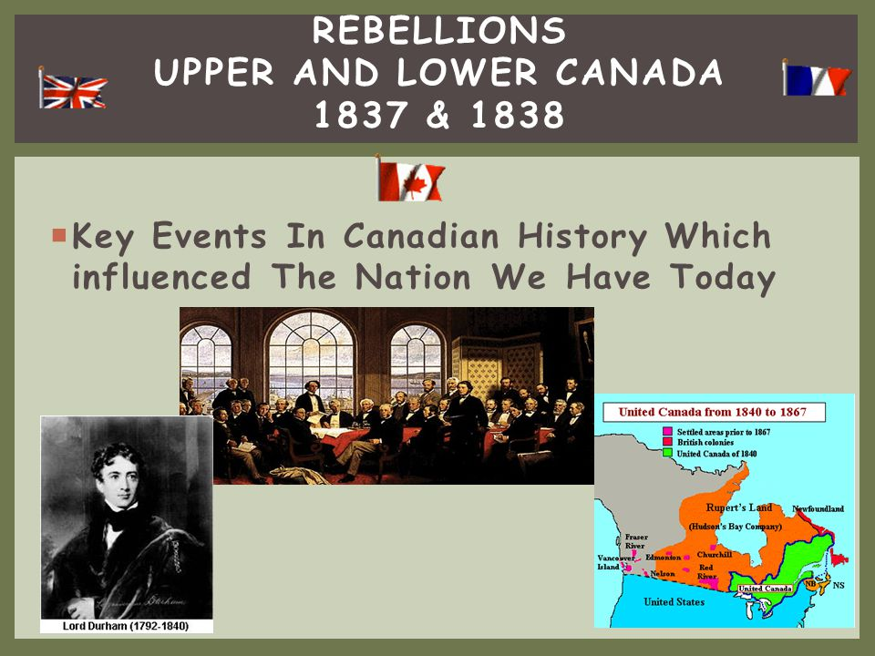  Copy down the following questions: 1.What was the Act of Union and how did it help to unite the Canada.