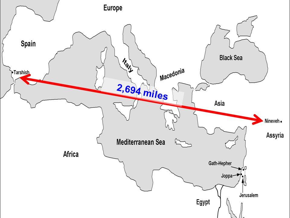 2,694 miles