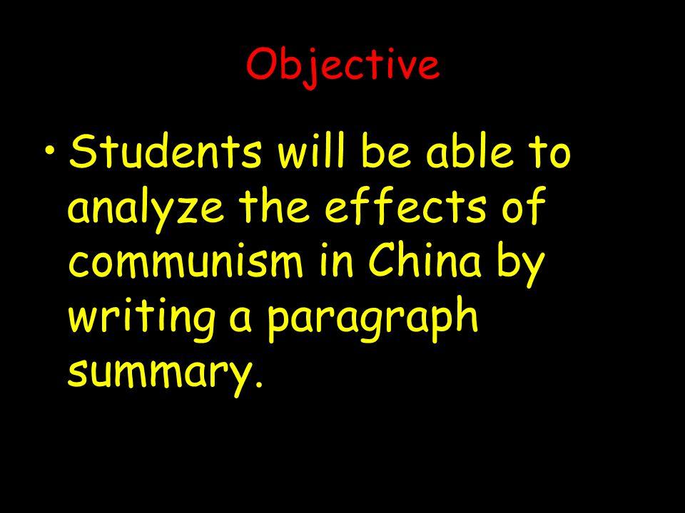 5.The Cultural Revolution A.