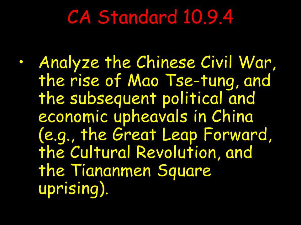 People's Republic of China Two Chinas Republic of China Mao Zedong Jiang Jieshi ( Chiang Kai-shek) ) In 1949, nationalist Jiang Jieshi fled to Taiwan and Mao Zedong took over China