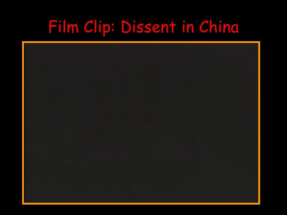 Film Clip: Dissent in China