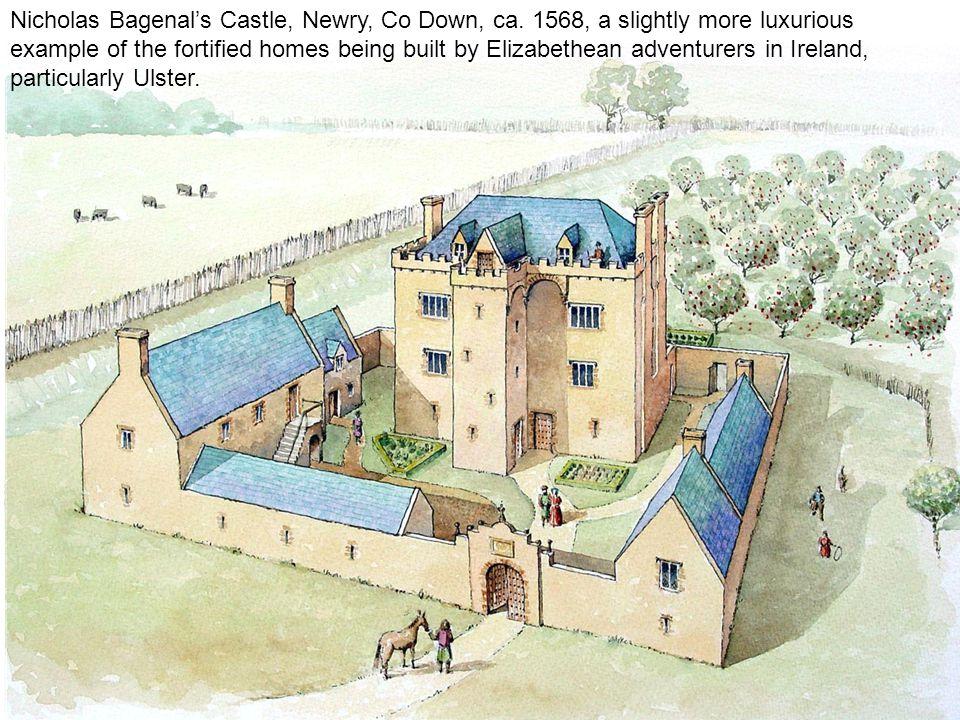 Nicholas Bagenal's Castle, Newry, Co Down, ca.