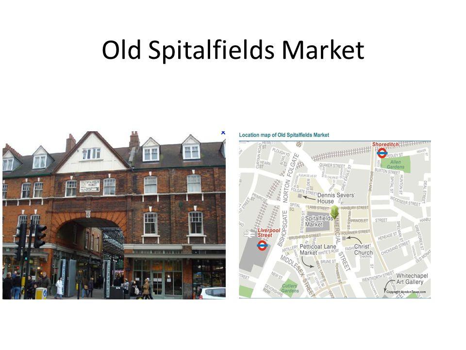 Old Spitalfields Market
