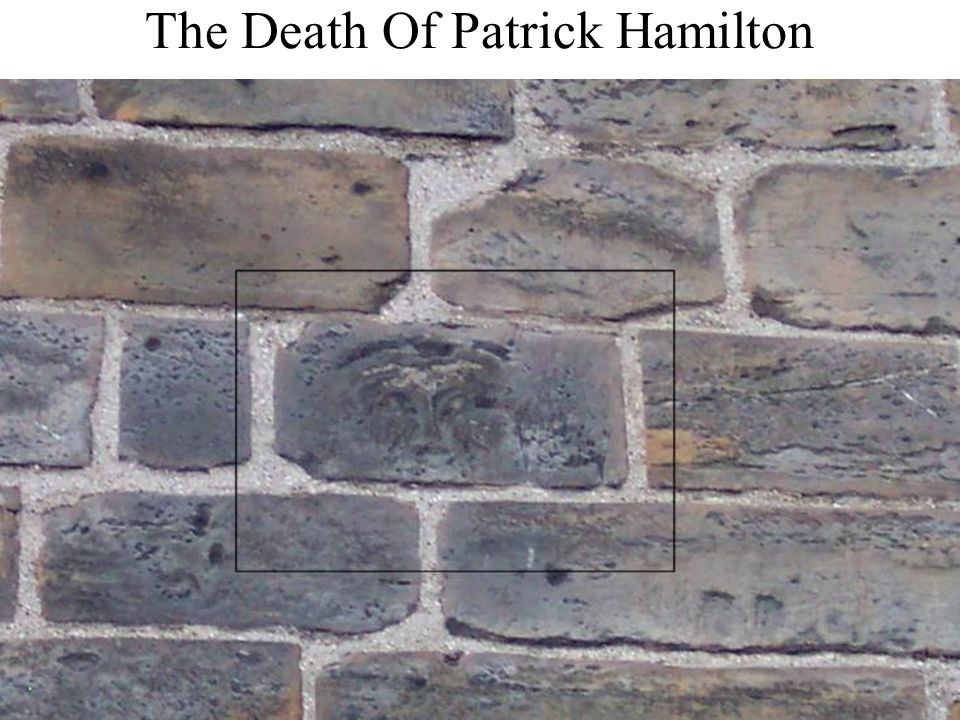 The Death Of Patrick Hamilton