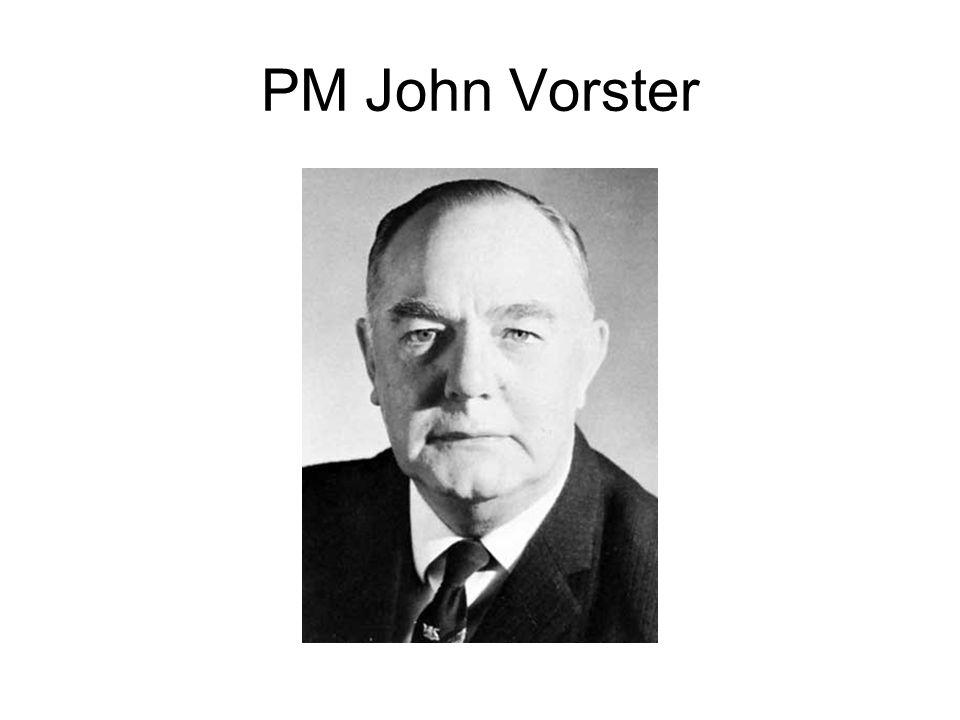 PM John Vorster