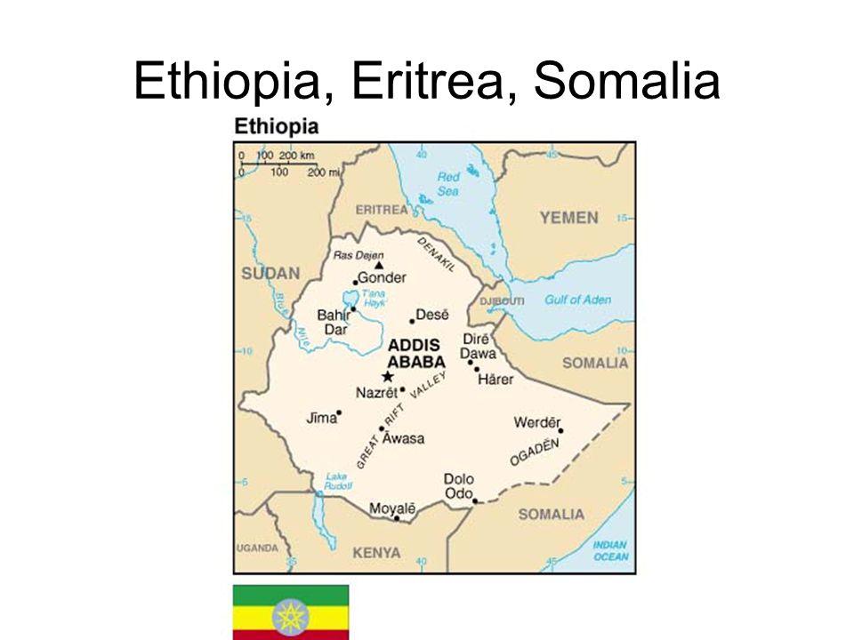 Ethiopia, Eritrea, Somalia