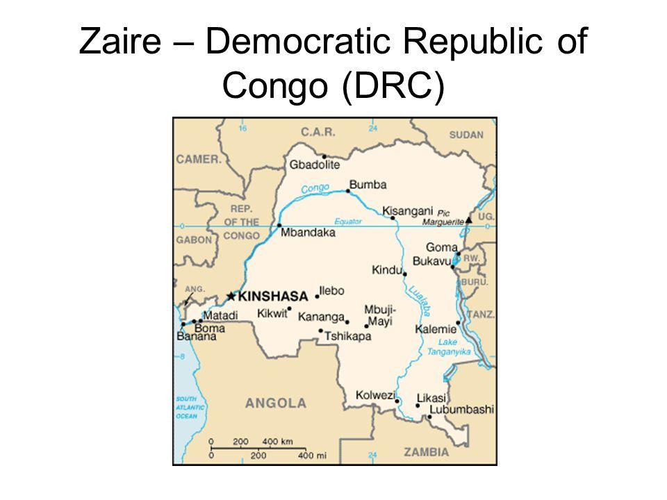 Zaire – Democratic Republic of Congo (DRC)