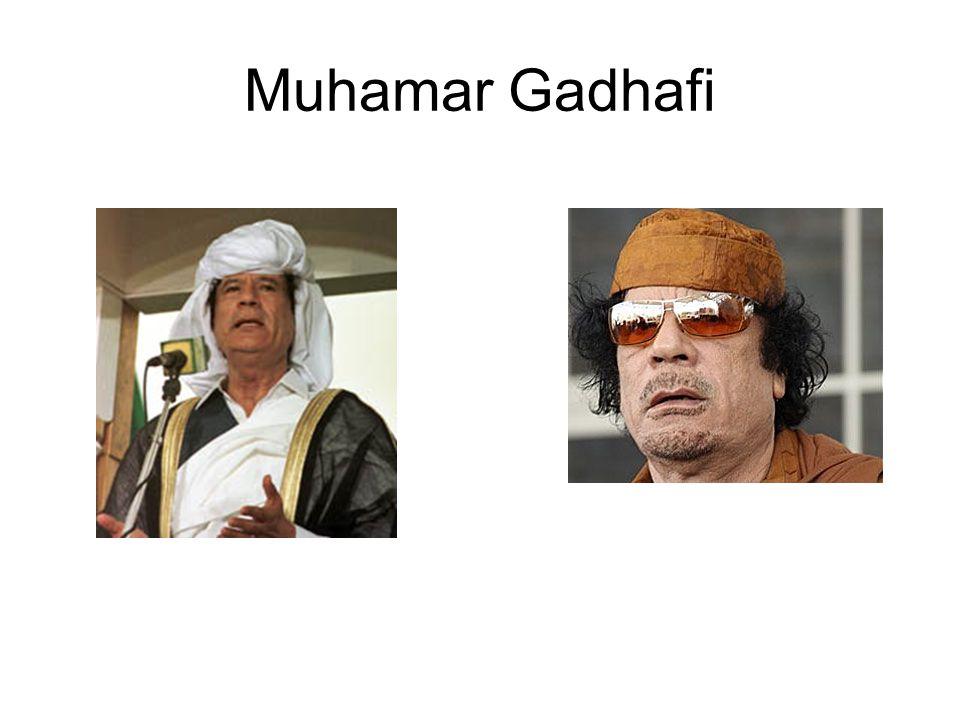 Muhamar Gadhafi
