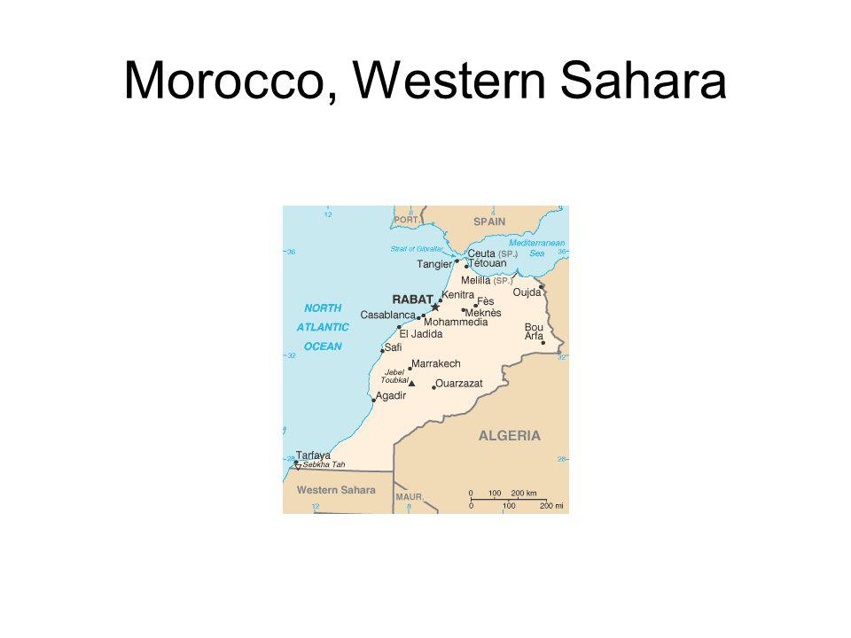 Morocco, Western Sahara