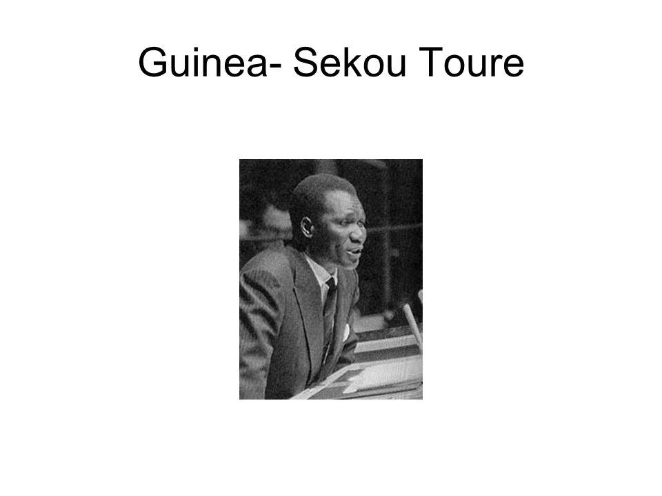 Guinea- Sekou Toure