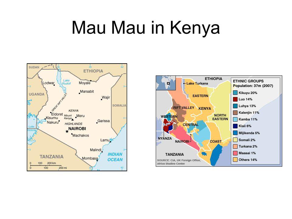 Mau Mau in Kenya