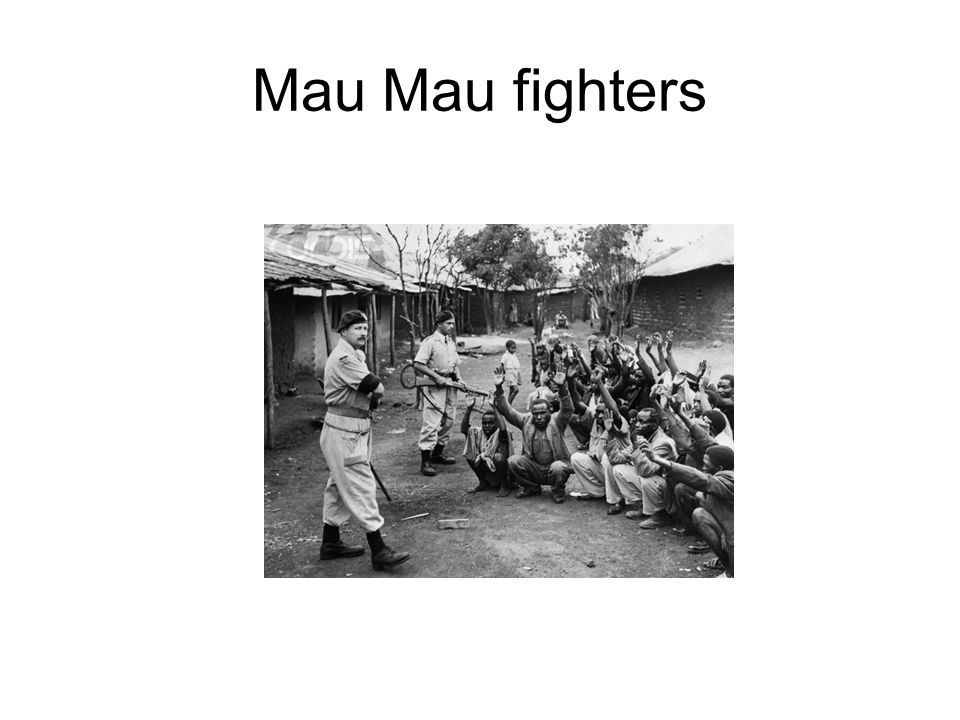 Mau Mau fighters