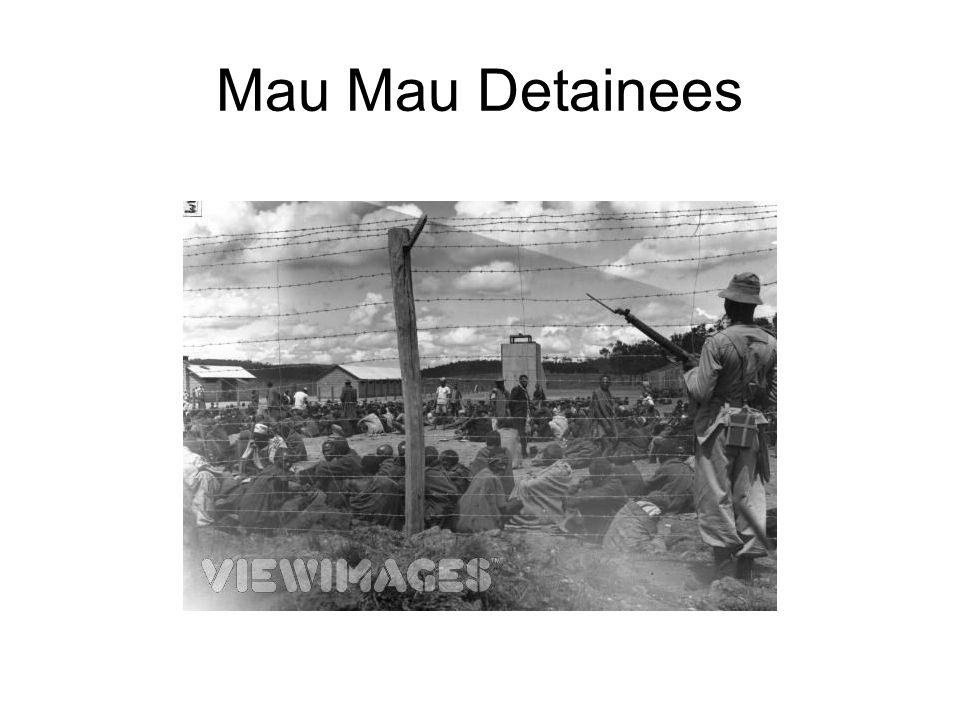 Mau Mau Detainees