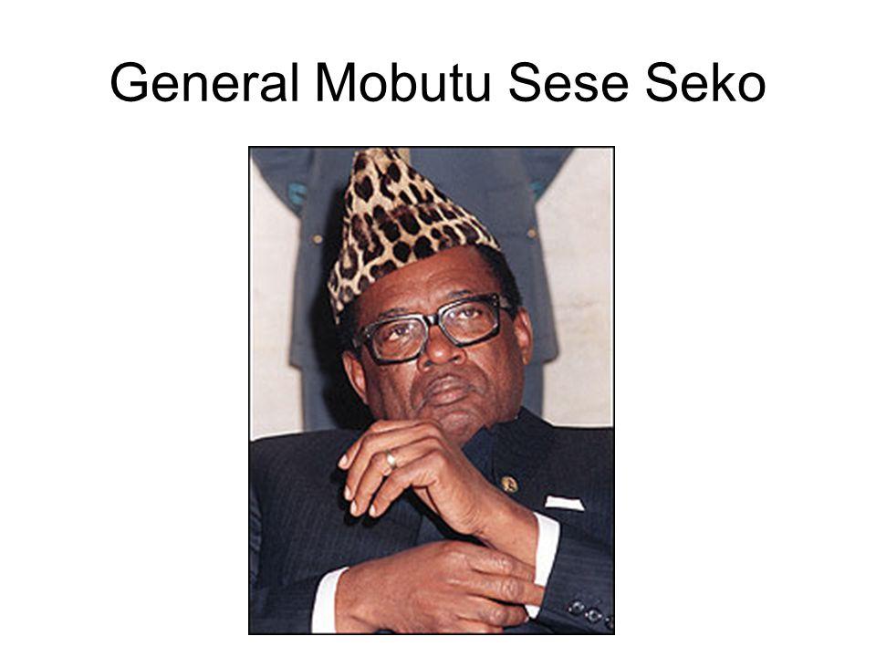 General Mobutu Sese Seko