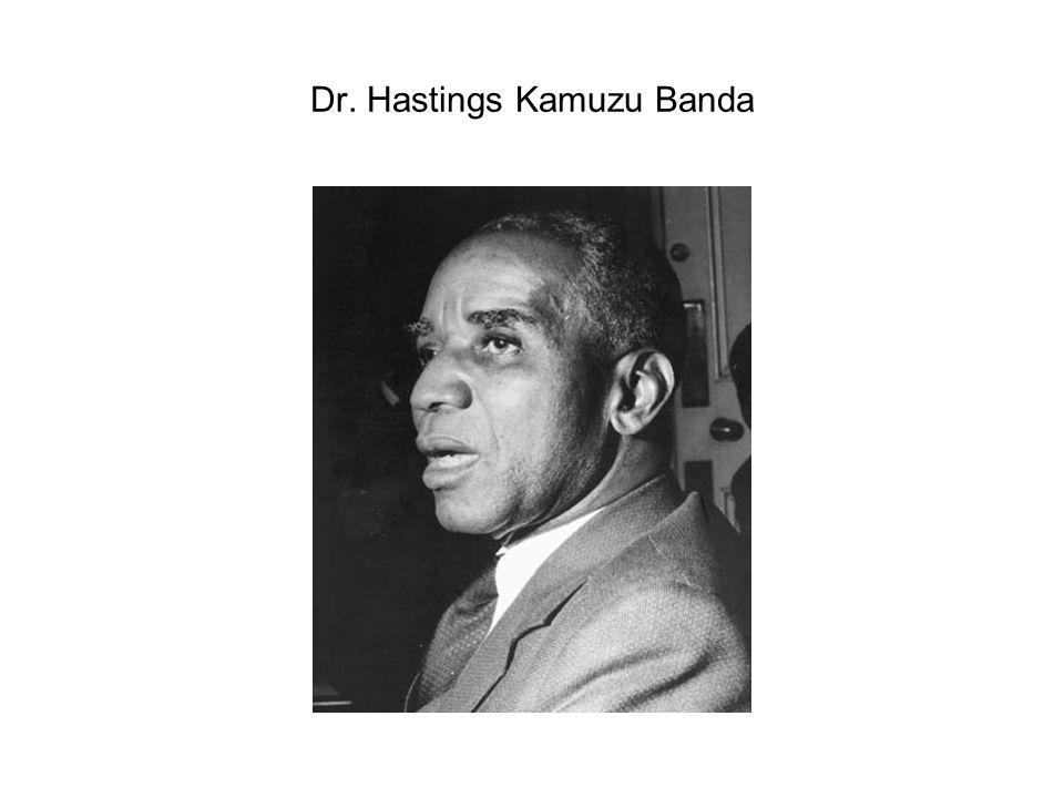 Dr. Hastings Kamuzu Banda