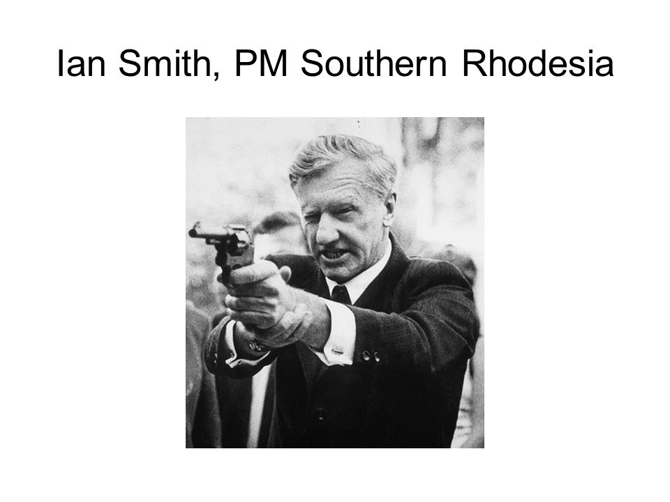 Ian Smith, PM Southern Rhodesia