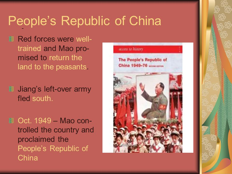 Relationship with Soviet Union Late 1950s – relationship with Soviet Union starts to crumble.