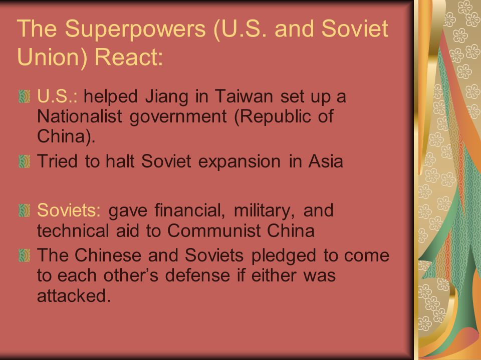 Communist China Expands: Tibet 1950-51: Brutal assault and take-over of Tibet China promised autonomy to those who followed the Dalai Lama.