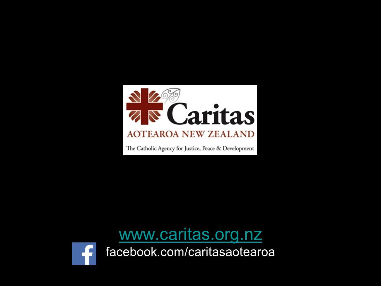 www.caritas.org.nz www.caritas.org.nz facebook.com/caritasaotearoa