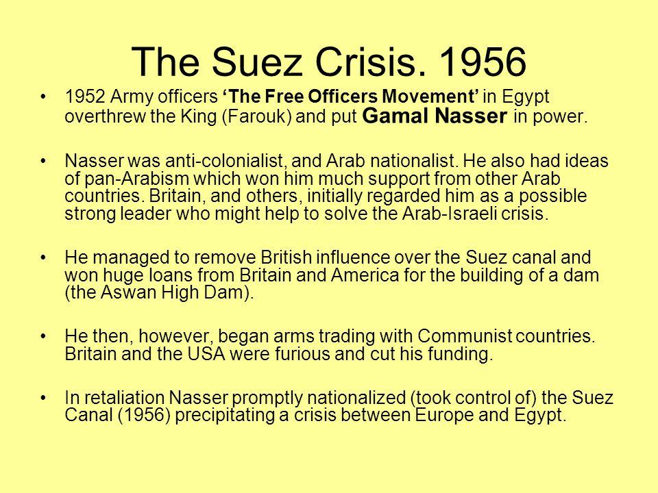 The Suez Crisis.