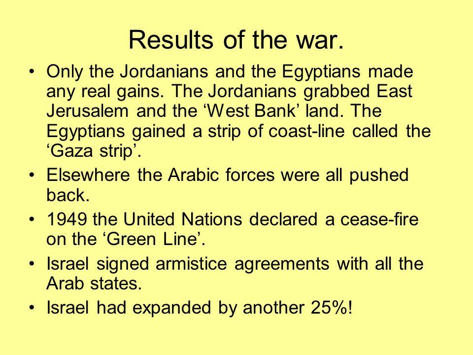 'West Bank'-Jordanian Gaza Strip-Egyptian Israel Golan Heights-Syrian