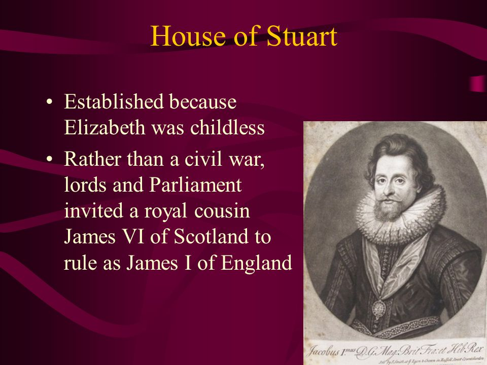 Parliamentary Parties Tories: for a strong king, tended to be Anglicans & landless nobles (who got their titles from the king) Whigs: for a strong Parliament, tended to be Anglicans who supported religious freedom, as well as merchants and lawyers; also included Puritans