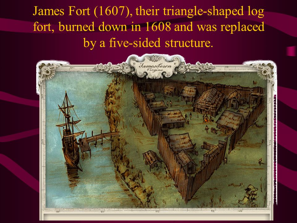 Jamestown The first permanent English settlement in America was founded here on May 14, 1607, by a group of 104 settlers led by Capt.
