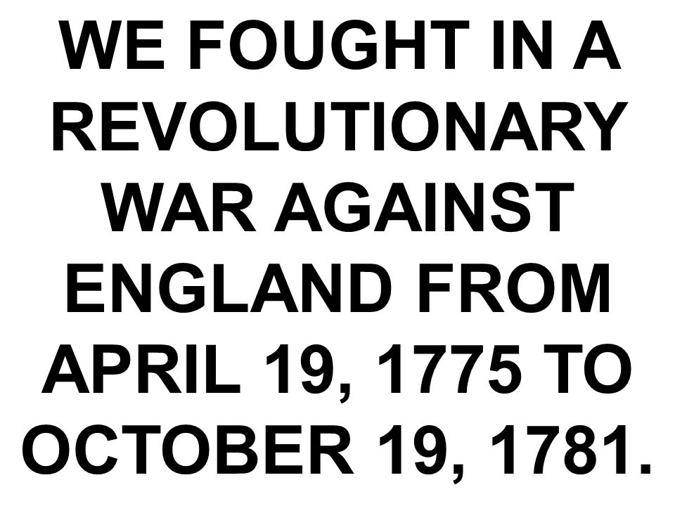 FOLLOWING THE REVOLUTIONARY WAR THE UNITED STATES SIGNED A TREATY WITH GREAT BRITAIN (ENGLAND).