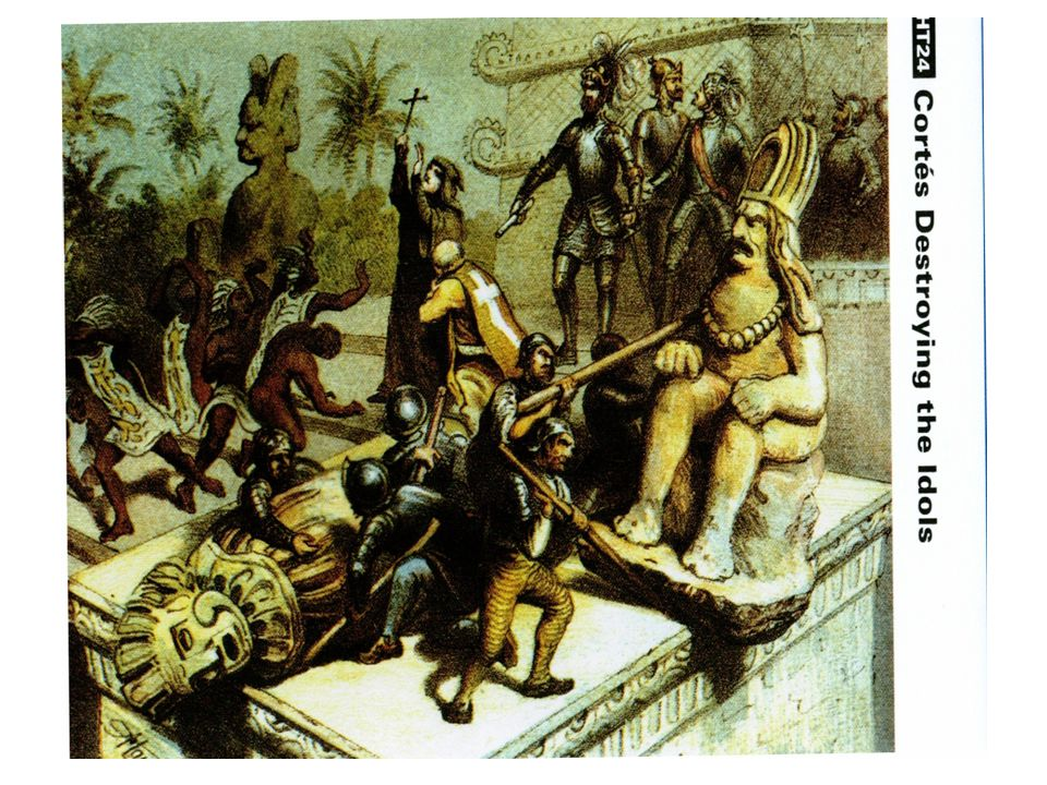 Second battle Lasted 75 days Cortes captured and hung the new Aztec Emperor Aztecs were weakened by smallpox Spaniards defeated the Aztecs 200,000 or more natives died Small Pox