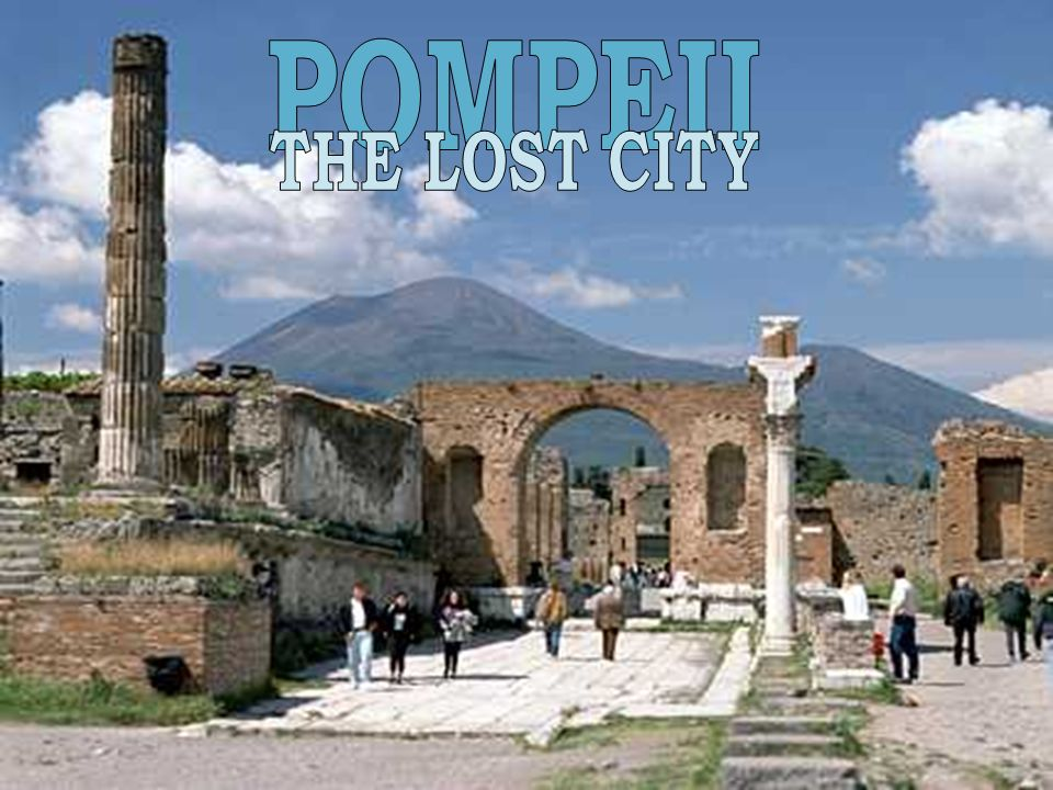 The ruins of Pompeii were found in the 18th Century, but they were not seriously examined for what they tell us about the people until the 19th Century