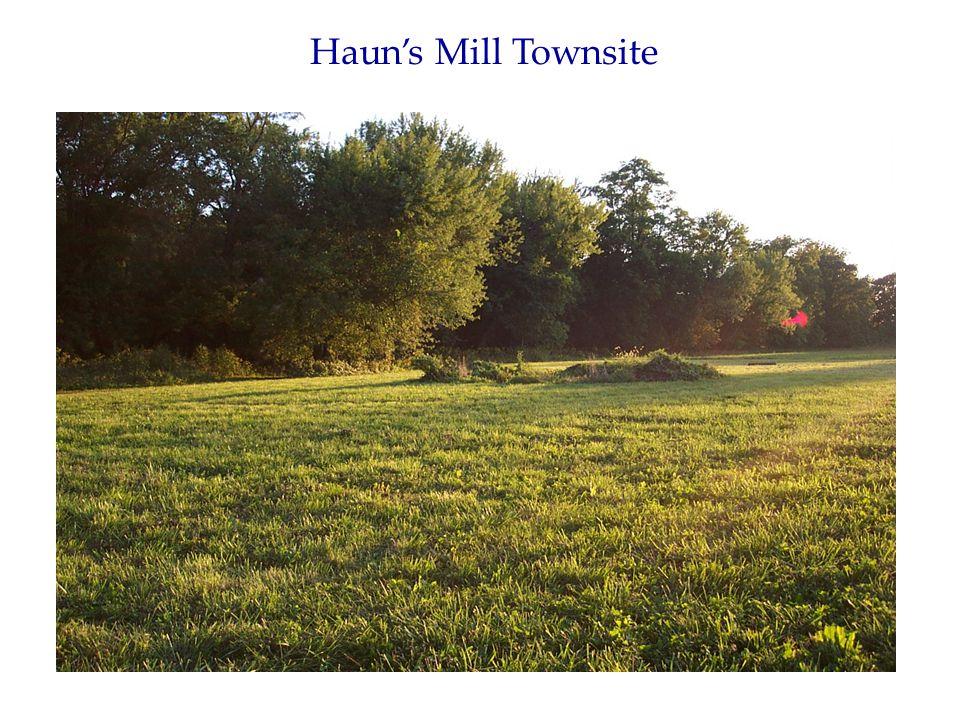 Haun's Mill Townsite