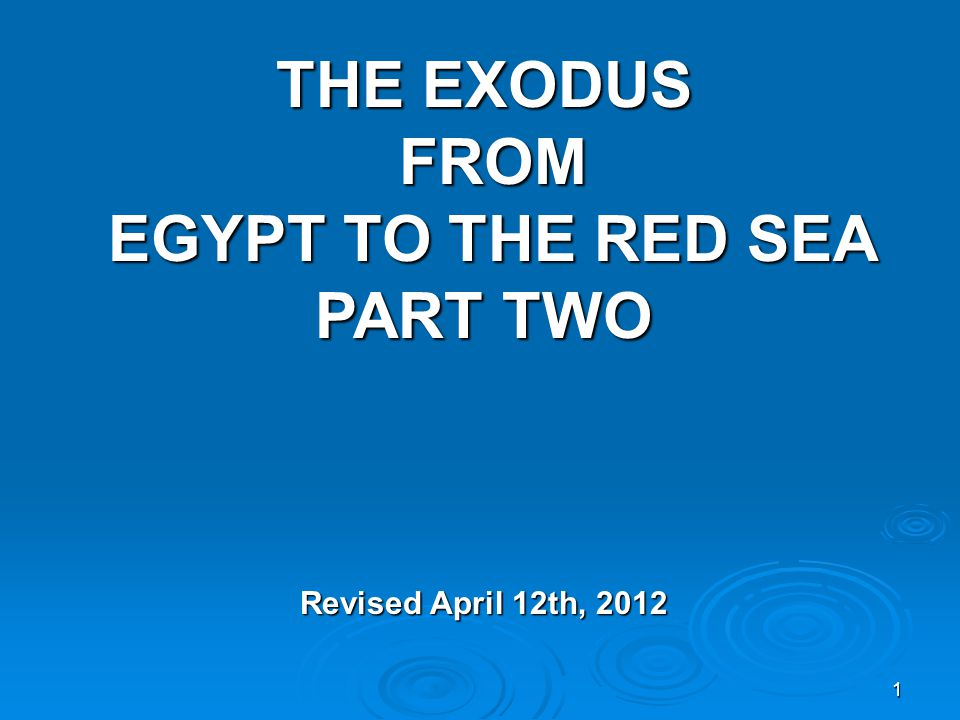42 EXODUS CHAPTER FOURTEEN CONTINUED… 14:24 And in the morning watch it came to pass that the LORD looked down upon the army of the Egyptians through the pillar of fire and of the cloud, and the army of the Egyptians was thrown into confusion.