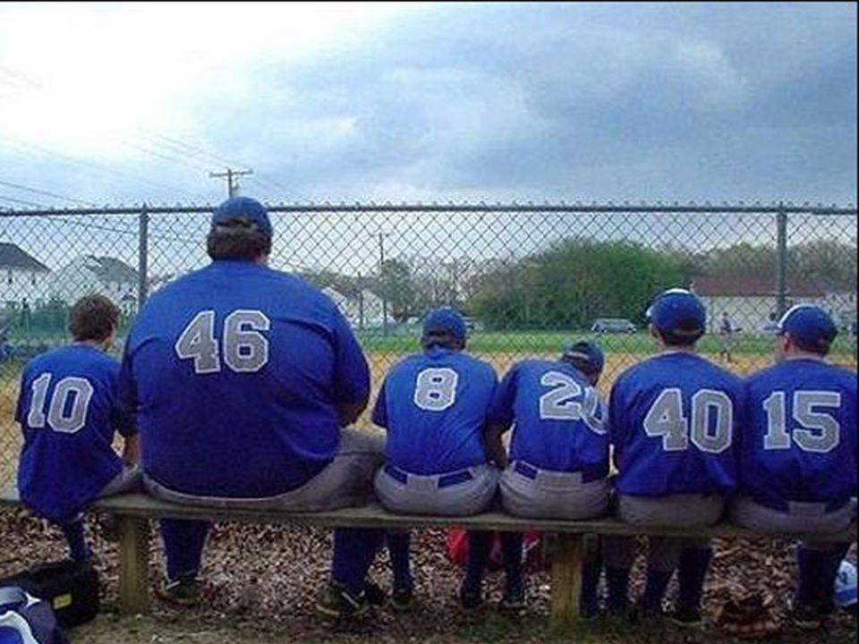 Pictures from Big Lou's childhood …Little League