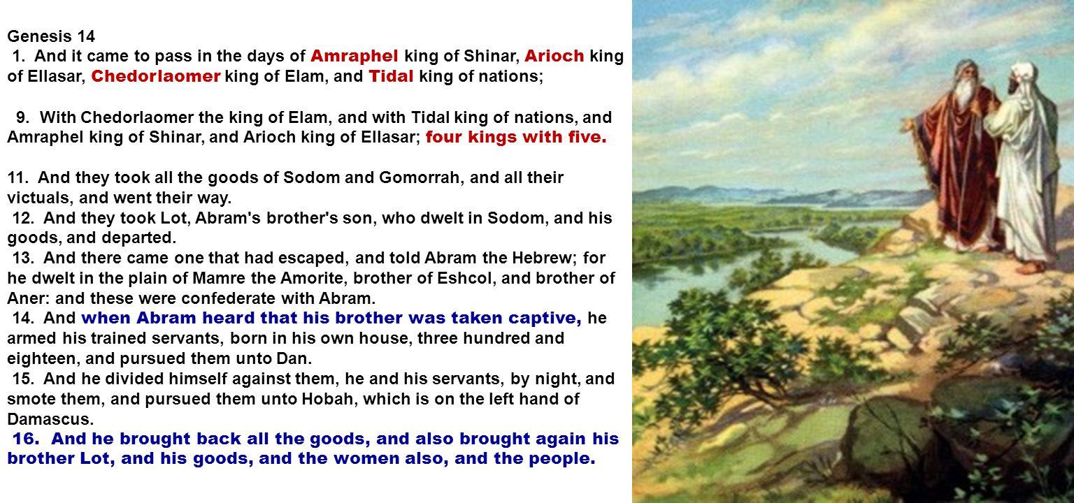 Genesis 14 1.